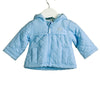 NN0004 BLUE QUILTED JACKET WITH STRIPED LINING (6PCS)