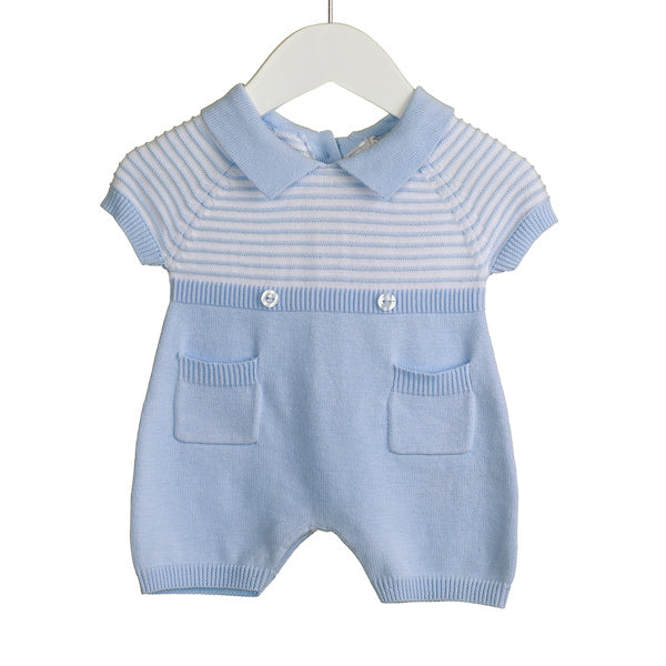 NN0200A - BABY BOYS KNITTED ROMPER (6 PCS)