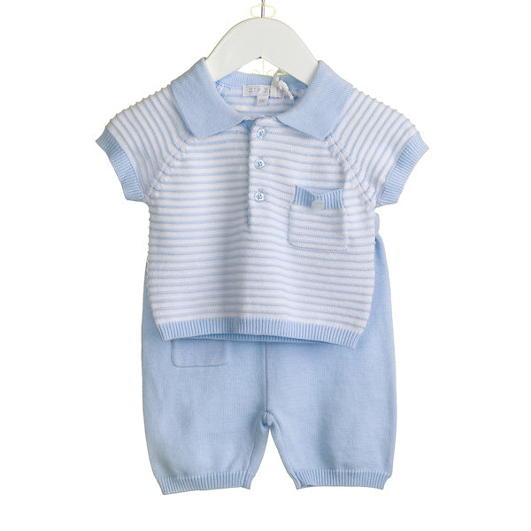 NN0202 - BOYS KNITTED 2PC SET (6 PCS)