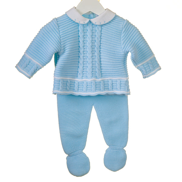 PP0200 - BABY BOYS 2 PIECE KNITTED SET (6 PCS)