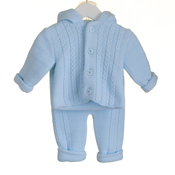 PP0206 - BABY BOYS 2 PIECE KNITTED SET (6 PCS)
