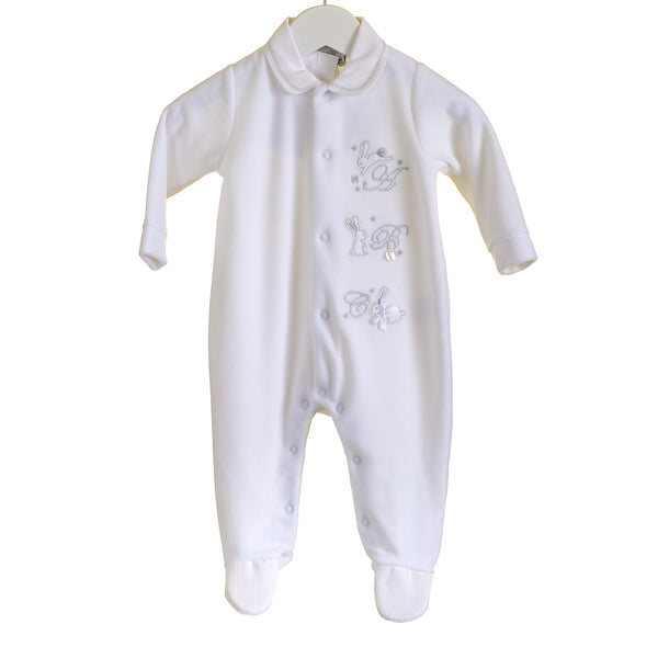 AW - PP0301 - BABY UNISEX VELOUR SLEEPER (6 PCS)