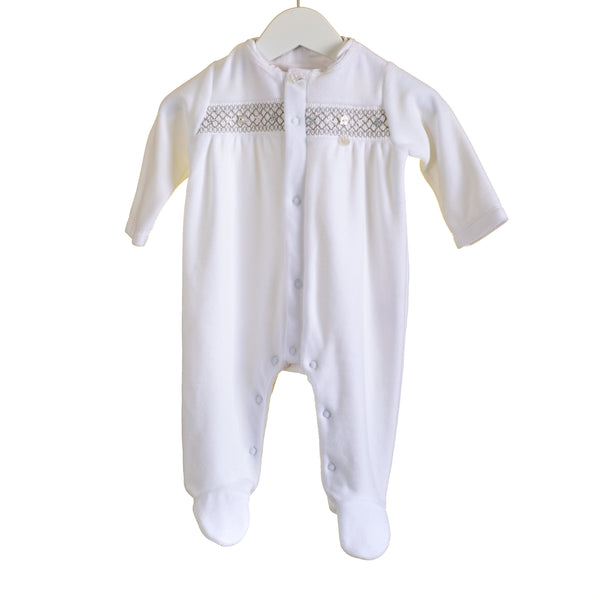 AW - PP0303 - BABY UNISEX VELOUR SLEEPER (6 PCS)