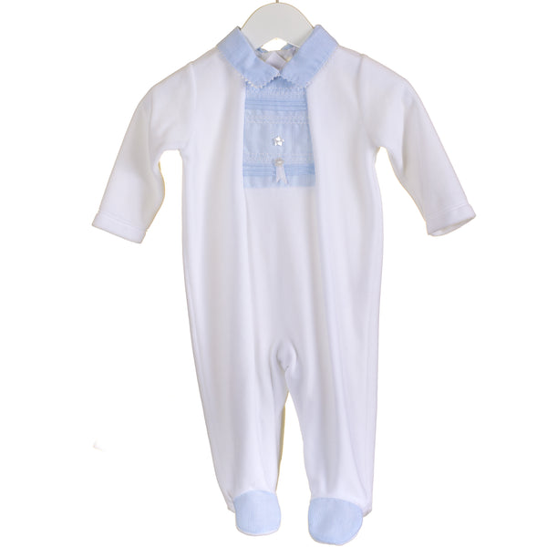 AW - PP0312 - BABY UNISEX VELOUR SLEEPER (6 PCS)