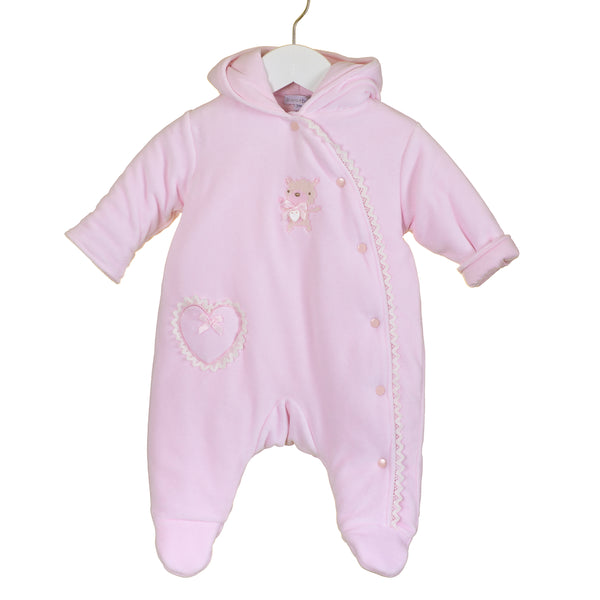 PP0338 - BABY GIRLS PRAMSUIT (6 PCS)