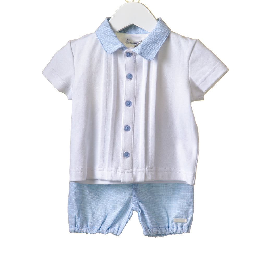 RR0005 - BOYS BLUE/WHITE 2PC SET (6 pcs)