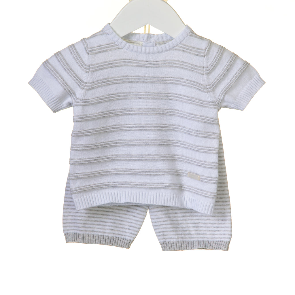 RR0055 - BOYS 2PC KNITTED SHORT SET (6 PCS)