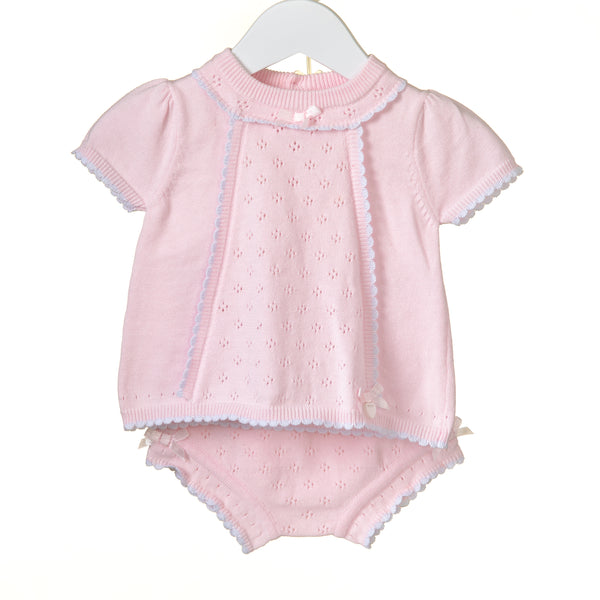 RR0065 -  GIRLS 2PC KNIT SET (6 pcs)
