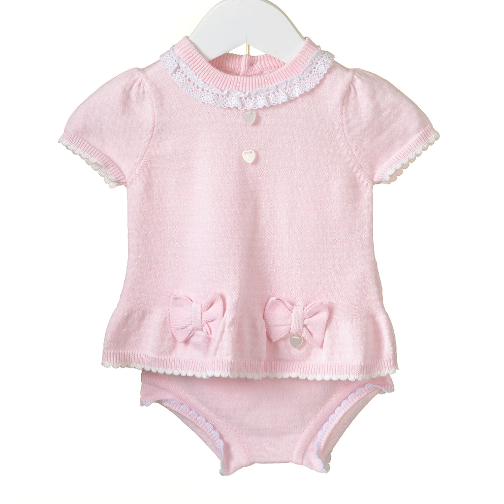 RR0067 - GIRLS 2PC KNIT SET (6 pcs)