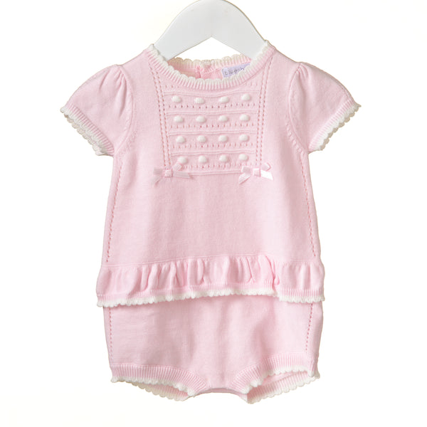 RR0072 - GIRLS POINTELLE KNITTED ROMPER (6 pcs)