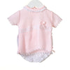 RR0098 - GIRLS KNIT/WOVEN 2PC SET (6 pcs)