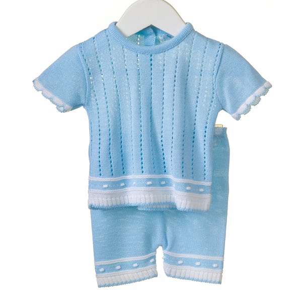 RR0105 - BOYS KNITTED 2PC SET (6 pcs)