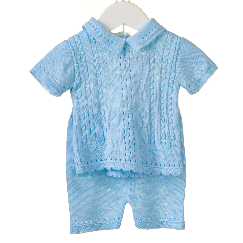 RR0108 - BOYS KNITTED 2PC SET (6 pcs)