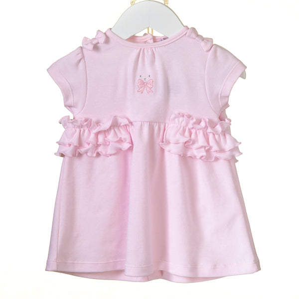 RR0131 - GIRLS INTERLOCK DRESS / BLOOMERS (6 pcs)