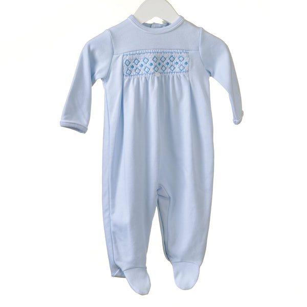 RR0140 - BOYS BLUE INTERLOCK SLEEPER (6 pcs)