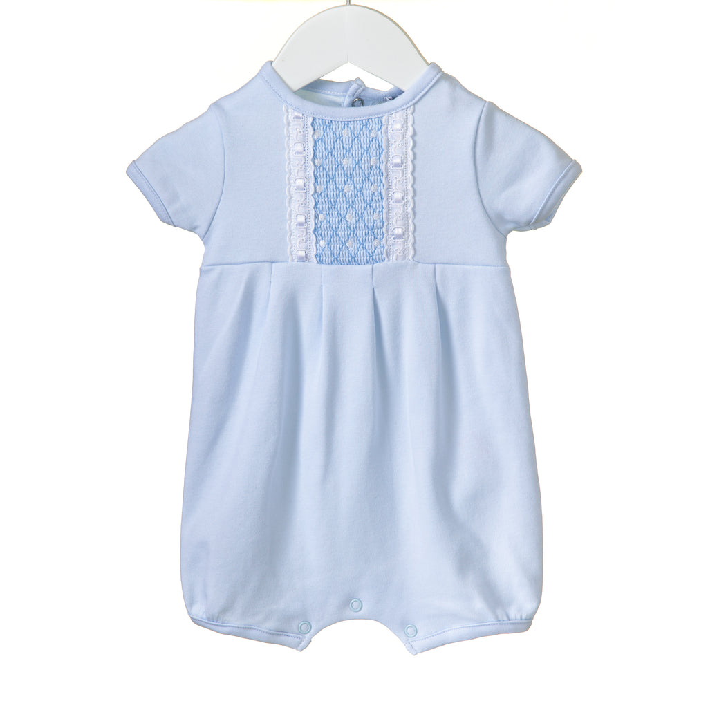 RR0149 - BOYS INTERLOCK ROMPER **25% OFF**  (6 pcs)
