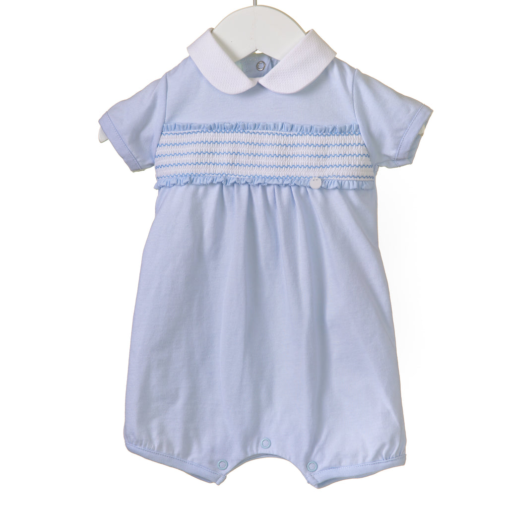 RR0151 - Boys Blue Romper (6 pcs)