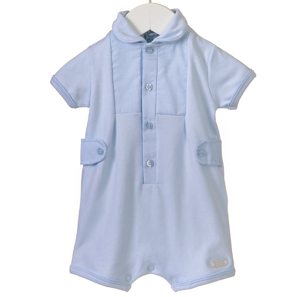 RR0153 - Boys Blue Romper (6 pcs)