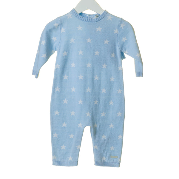 TT0110 - BOYS BLUE STAR INTARSIA 2PC SET (6PCS) **In stock Thurs 25th July**