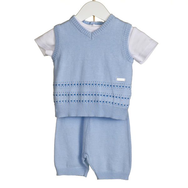 VV0103 - BOYS STAB STITCH 3PC SET WITH T-SHIRT (6PCS)