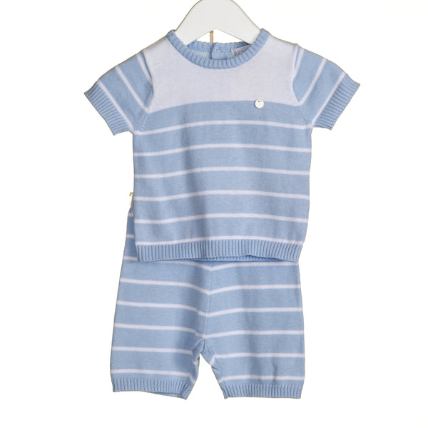 VV0106 - BOYS STRIPE 2 PC SET (6PCS)
