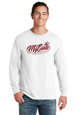 Script Men's Long Sleeve Tee