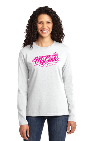 Script Women's Long Sleeve Tee