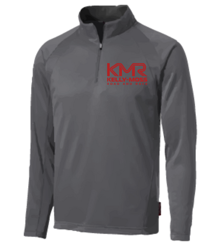 Kelly-Moss Road and Race Men's Fleece Quarter Zip Pullover