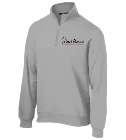 Czar's Promise Men's Fleece Quarter Zip Pullover