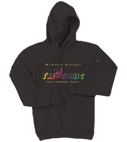 Myconic Apparel Men's Hooded Custom Sweatshirt