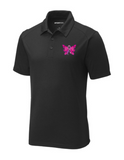 Men's Butterfly Ribbon Performance Polo