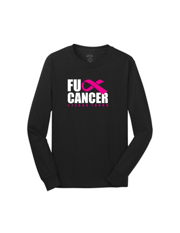 F*ck Cancer Men's Long Sleeve Shirt