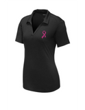 Women's Pink Ribbon Performance Polo
