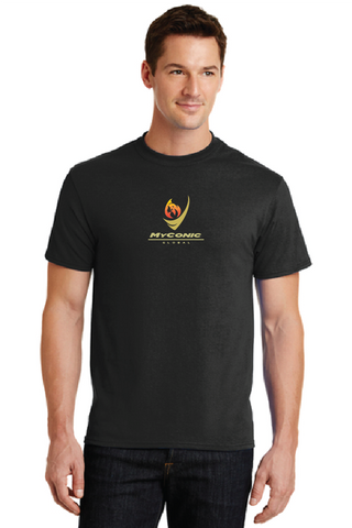 Myconic Torch Sport Logo Cotton T-Shirt