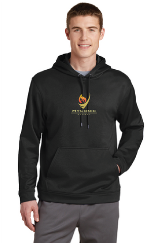 Myconic Torch Sport Logo Performance Hooded Sweatshirt