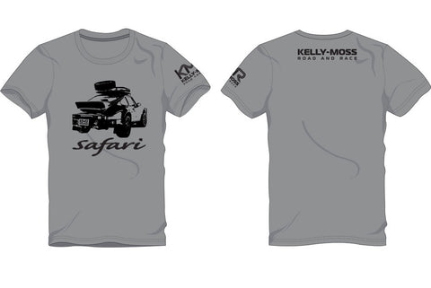 Kelly-Moss Women's Grey Safari Porche T-Shirt