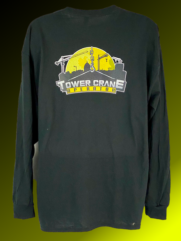 Tower Crane Operator Long Sleeve T-Shirt