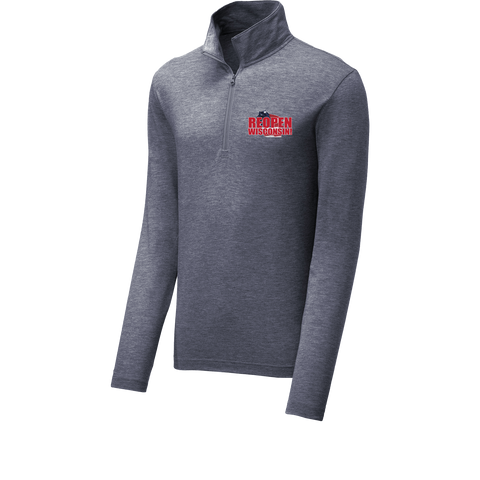 Reopen Wisconsin Performance Quarter Zip!