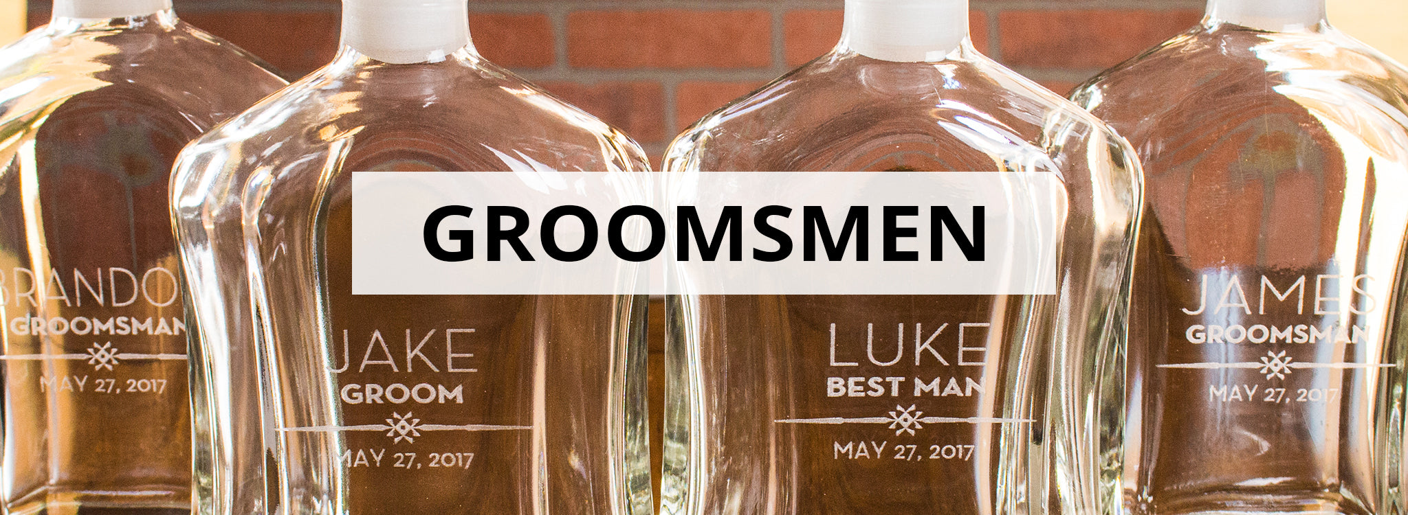 Custom Groomsmen Gifts Engraved