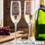 2 Champagne Glass Set - Design: HH4