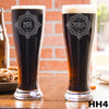 2 Pilsner Glass Set - Design: HH4