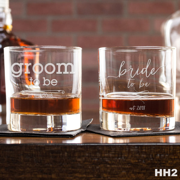 2 Rocks Glass Set - HH2