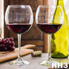 2 Red Wine Glass Set - HH3