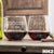 2 Stemless Red Wine Glass Set - Design: HH2