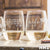 2 Stemless White Wine Glass Set - Design: HH1