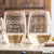 2 Stemless White Wine Glass Set - Design: HH2