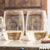 2 Stemless White Wine Glass Set - Design: HH4