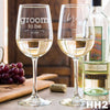 2 White Wine Glass Set - Design: HH2
