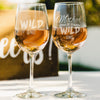 2 White Wine Glass Set Wild One - Design: MDS4
