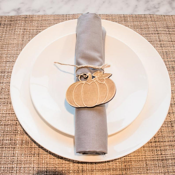 Thanksgiving Napkin Tie - 4 Designs